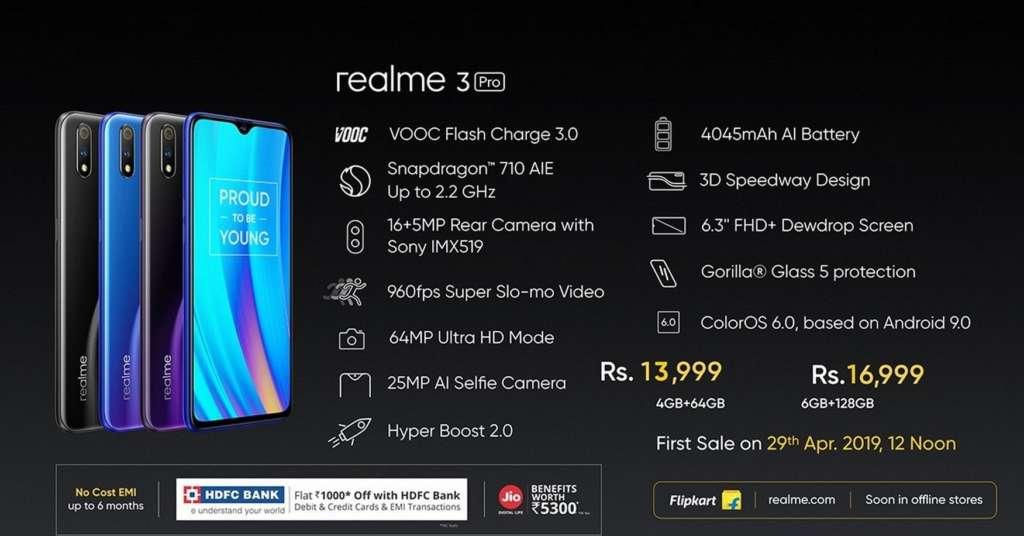 سعر Realme 3 Pro